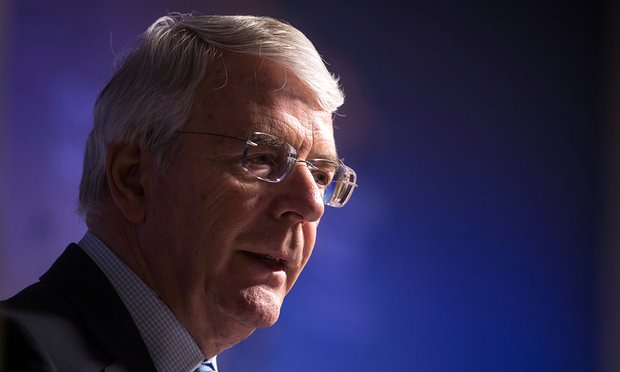 John Major attacks