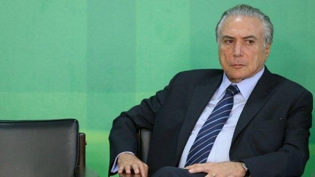 Brazil's President Michel Temer