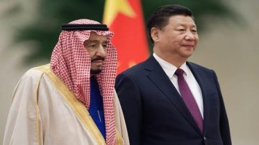 Hosting Saudi king
