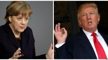 Trump, Merkel meeting