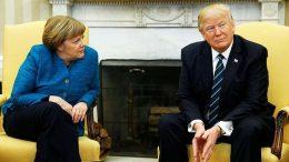 Merkel's handshake