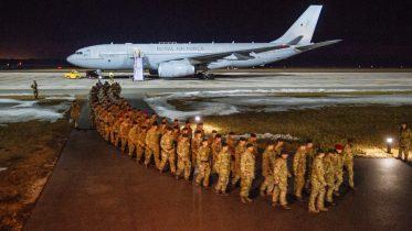 UK troops deployed in Estonia
