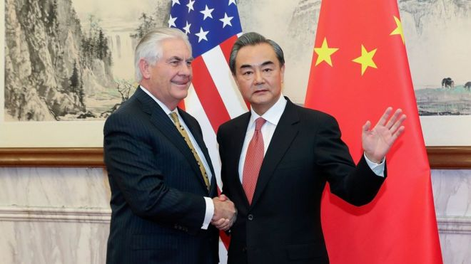 US-China meeting
