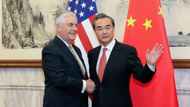 US-China meeting