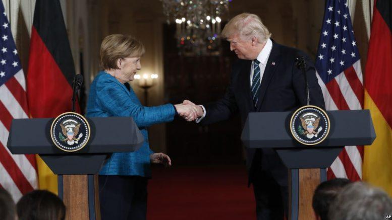 Trump-Merkel Talks