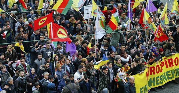 'PKK rally'