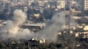 Heavy fighting in east Damascus