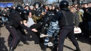 Mass Moscow arrests