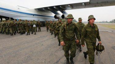 Russian military visit Pashtoon Tribal zone