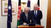 Afghanitan-Australia agreement