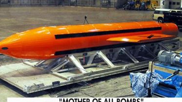 non-nuclear bomb in Afghanistan