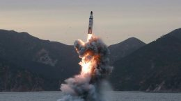 North Korea missile test