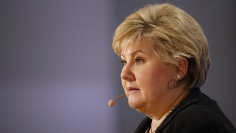 Norway PM to China to seal reconciliation