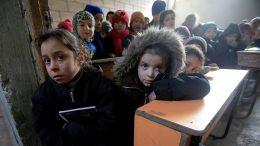 Syrian kids pay 'highest price