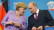 Merkel's Visit to Russia