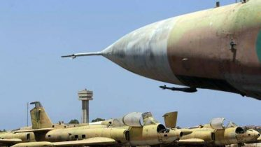 Libya airbase attack