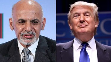 Ashraf Ghani-Donald Trump meeting