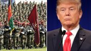 Trump calls Afghan soldiers courageous