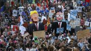 Protests Target Both NATO and Trump in Brussels