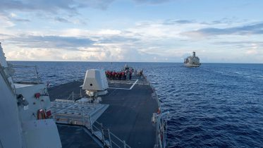 US warship challenges China's territorial water claims
