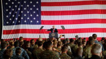 Trump ends nine-day overseas trip