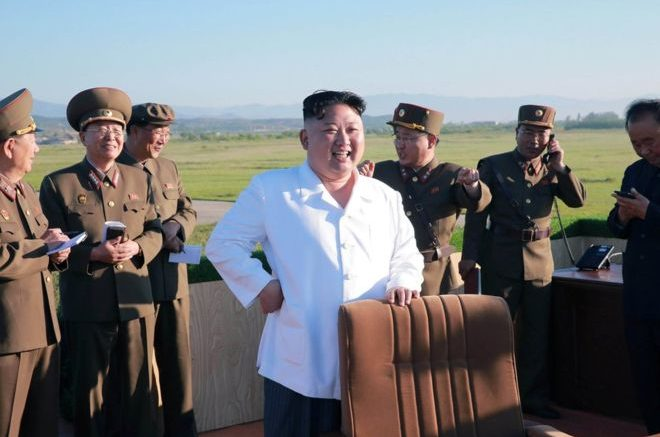 N Korea fires Scud missile into sea