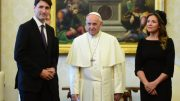 PM Trudeau meets with Pope Francis at Vatican