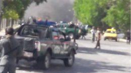 Big explosion hits Kabul