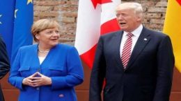 Relation between President Trump, Chancellor Merkel