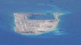 Disputed South China Sea Island