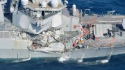 Destroyer collision near Japan – Navy