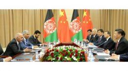 افغانستان له چین سره د کونړ پر سیند د برېښنا پروژه لاسلیک کړه