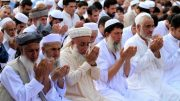 Muslims in Asia pray for peace