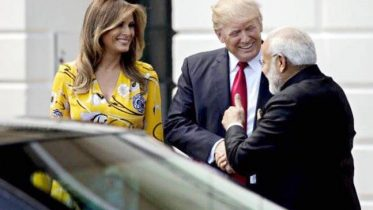US President is coming to India