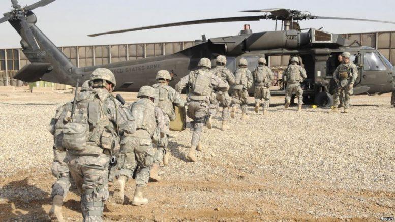 ١٥٠٠ امریکایي سرتیري د داعش جگړې لپاره افغانستان ته ځي