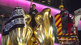 Democracy Protesters in Hong Kong