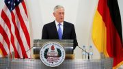 Mattis Consults NATO on Afghan Strategy