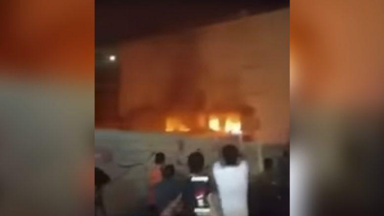 Massive explosion hits Iranian supermarket,