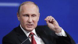Putin Ridicules Russia Hysteria in US