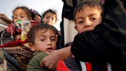 100k children trapped in ISIS-held Mosul