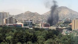 Explosions Rip Through Downtown Kabul