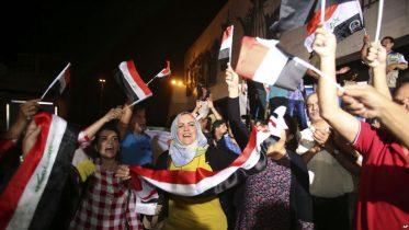 Trump Congratulates Iraqis