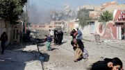 Chaotic Mosul evacuation