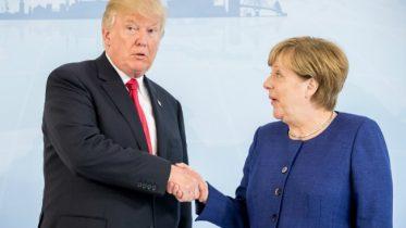 Donald Trump Praises Angela Merkel