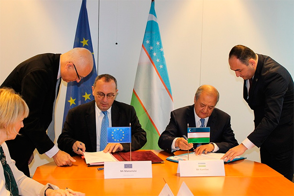 Uzbekistan and EU sign agreement