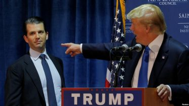 Trump Again Defends Son's Meeting