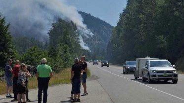 Canadians Fleeing Wildfires