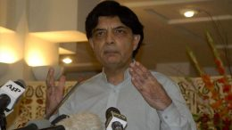 Country being encircled: Ch Nisar