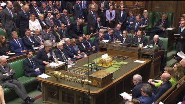 Theresa May's majority