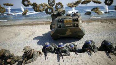South Korea military drills